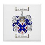 McCallum Family Crest Tile Coaster