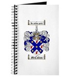 McCallum Family Crest Journal