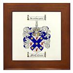 McCallum Family Crest Framed Tile