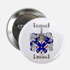 "McCallum Family Crest 2.25"" Button (100 pack)"