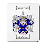 McCallum Family Crest Mousepad