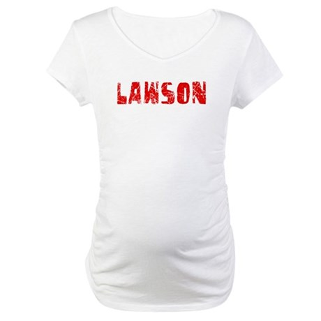 Lawson Faded (Red) Maternity T-Shirt