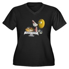 Smiley Physical Therapy Women's Plus Size V-Neck D