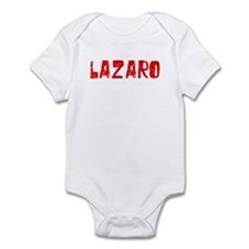Lazaro Faded (Red) Infant Bodysuit