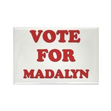 Vote for MADALYN Rectangle Magnet (10 pack)