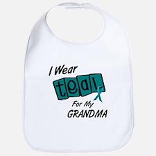 I Wear Teal 8.2 (Grandma) Bib