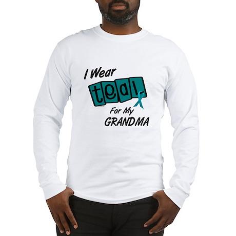 I Wear Teal 8.2 (Grandma) Long Sleeve T-Shirt