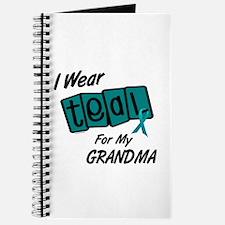 I Wear Teal 8.2 (Grandma) Journal