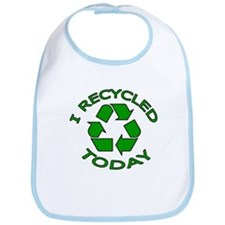 I Recycled Today Bib