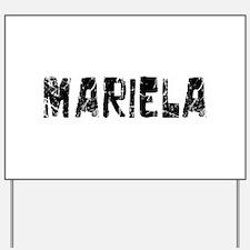 Mariela Faded (Black) Yard Sign