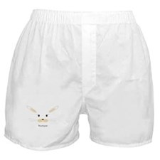 personalized bunny gifts Boxer Shorts