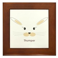 personalized bunny gifts Framed Tile