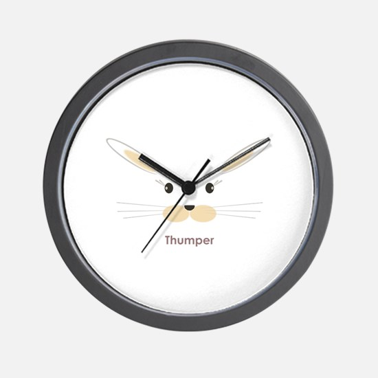 personalized bunny gifts Wall Clock