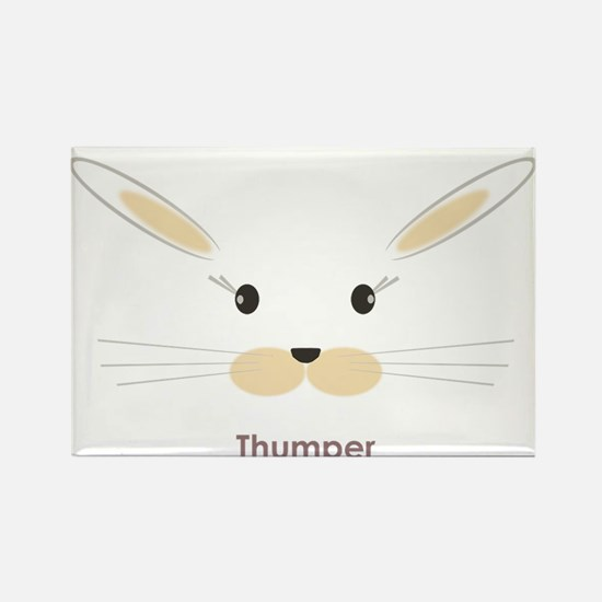 personalized bunny gifts Rectangle Magnet
