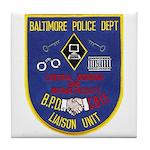 Baltimore Jail Tile Coaster