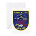 Baltimore Jail Greeting Cards (Pk of 10)