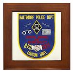 Baltimore Jail Framed Tile