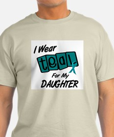 I Wear Teal For My Daughter 8.2 T-Shirt