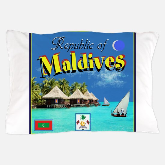 Maldives Pillow Case