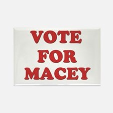 Vote for MACEY Rectangle Magnet