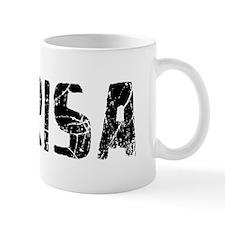 Marisa Faded (Black) Mug