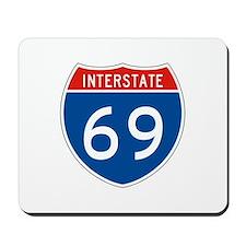 Interstate 69, USA Mousepad