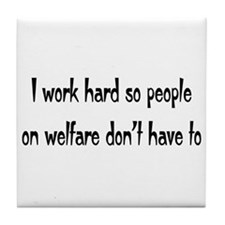 welfare Tile Coaster
