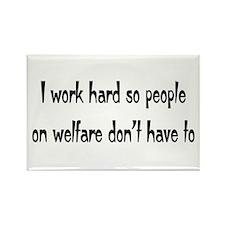 welfare Rectangle Magnet