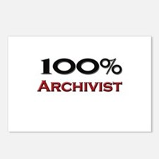 100 Percent Archivist Postcards (Package of 8)