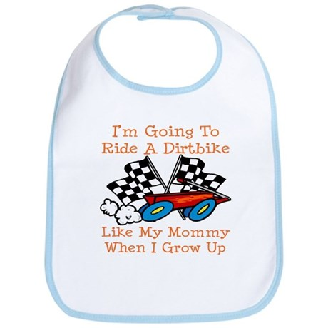 A Dirtbike Like Mommy Bib