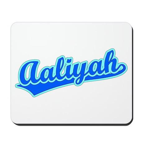 Retro Aaliyah (Blue) Mousepad