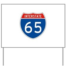 Interstate 65, USA Yard Sign