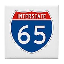 Interstate 65, USA Tile Coaster