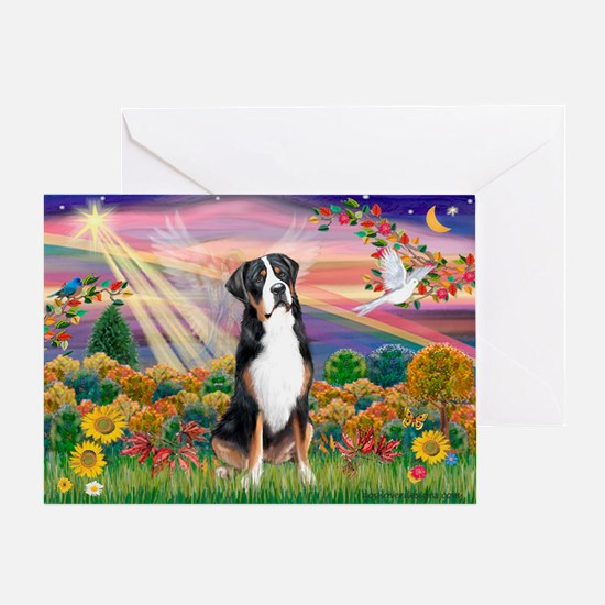 Autumn Angel / GSMD Greeting Card