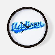 Retro Addison (Blue) Wall Clock
