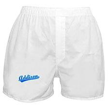 Retro Addison (Blue) Boxer Shorts