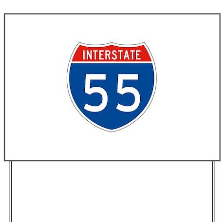 Interstate 55, USA Yard Sign