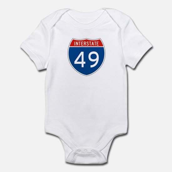 Interstate 49, USA Infant Bodysuit