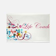 Feminine Life Coach Rectangle Magnet