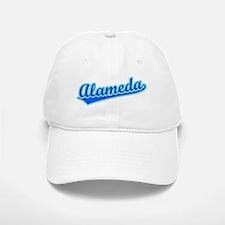 Retro Alameda (Blue) Baseball Baseball Cap