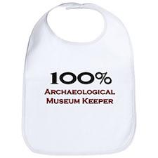 100 Percent Archaeological Museum Keeper Bib