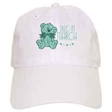 Green Marble Teddy Due In March Baseball Cap