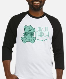 Green Marble Teddy Due In March Baseball Jersey