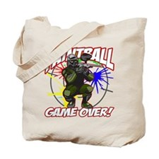 Paintball Game Over Tote Bag