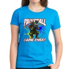 Paint Ball Game Over Tee