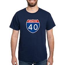 Interstate 40, USA T-Shirt