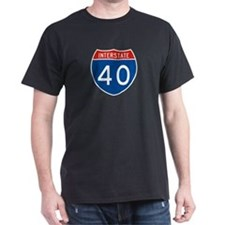 Interstate 40, USA T-Shirt