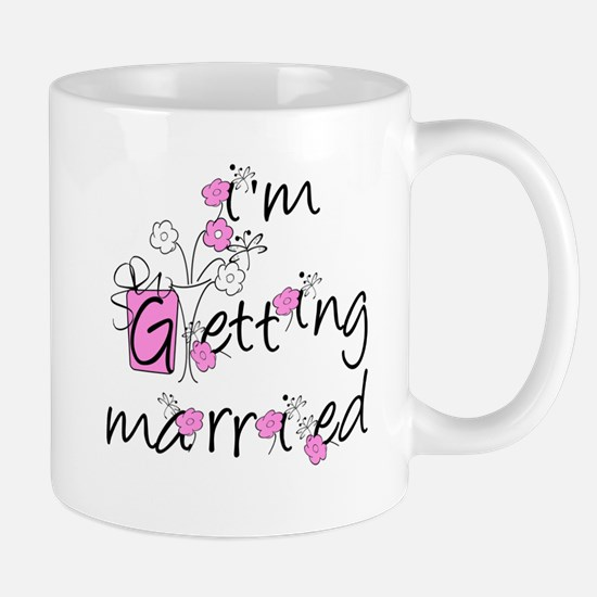 Flowers I'm Getting Married Mug