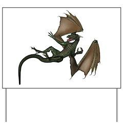 Dragon 6 Yard Sign