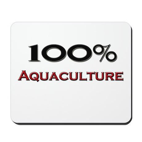 100 Percent Aquaculture Mousepad
